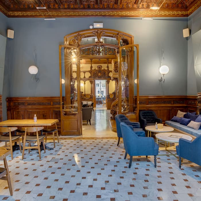 Salon-Conservatorio-Luxury-Suites-El-Paulet-Barcelona